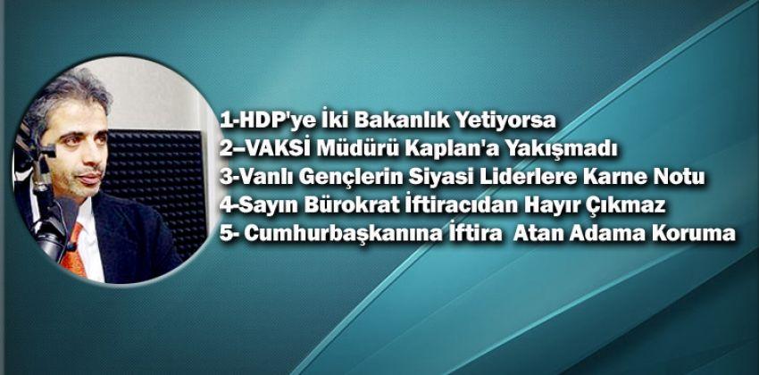 HDP'NİN KÜRTLERE İHANETİNİN TESCİLİ